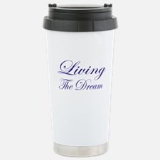 Living the Dream Purple Travel Mug
