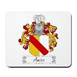 Amico Family Crest Mousepad