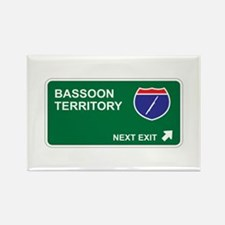Bassoon Territory Rectangle Magnet (10 pack)