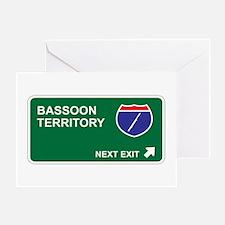 Bassoon Territory Greeting Card