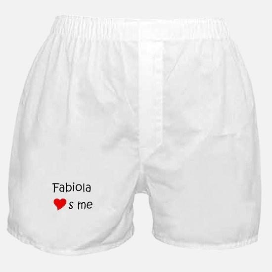 Unique Fabiola Boxer Shorts