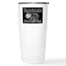 Possums Need Love Travel Coffee Mug