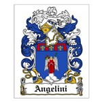 Angelini Family Crest Small Poster