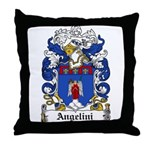 Angelini Family Crest Throw Pillow