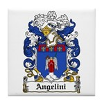 Angelini Family Crest Tile Coaster