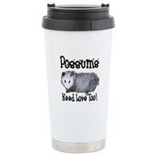 Possums Need Love Travel Mug