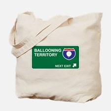 Ballooning Territory Tote Bag