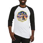 XmasStar/German Shep Pup Baseball Jersey