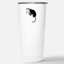Possum Silhouette Stainless Steel Travel Mug