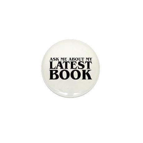 My Latest Book Mini Button