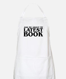My Latest Book BBQ Apron