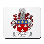 Angelo Family Crest Mousepad