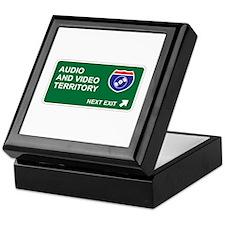 Audio, and Video Territory Keepsake Box