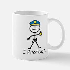 BusyBodies Police Officer Mug