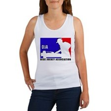 Disc jockey association Women's Tank Top