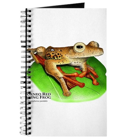 Borneo Red Flying Frog Journal