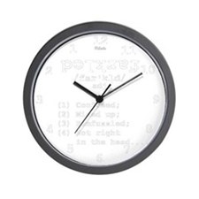Definition: Farkled Wall Clock