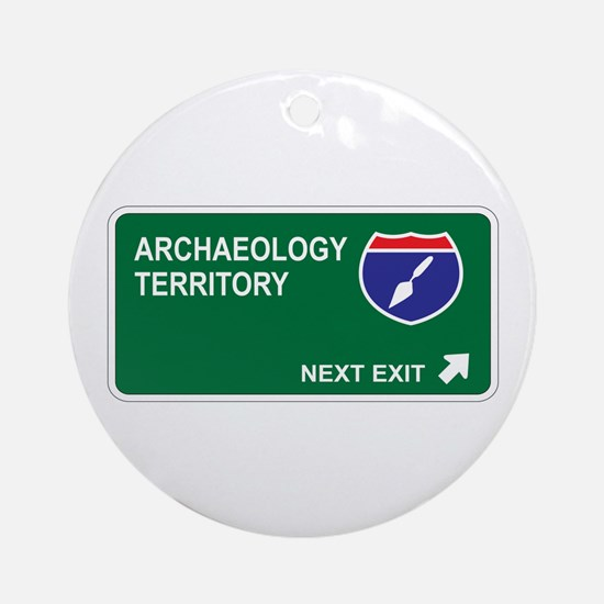 Archaeology Territory Ornament (Round)