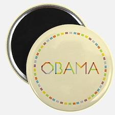Rainbow Fold Obama Magnets (100 pk)