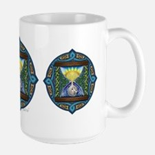 Celtic Sun-Moon Hourglass Mug