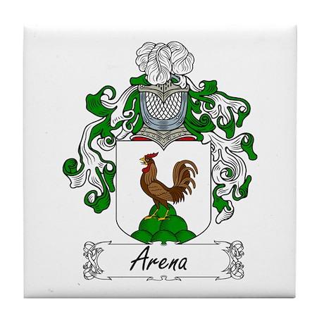 Arena Family Crest Tile Coaster
