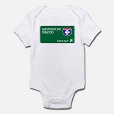 Anesthesiology Territory Infant Bodysuit