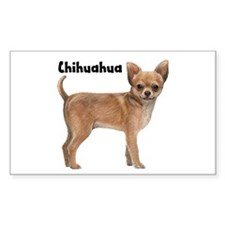 Chihuahua Rectangle Decal