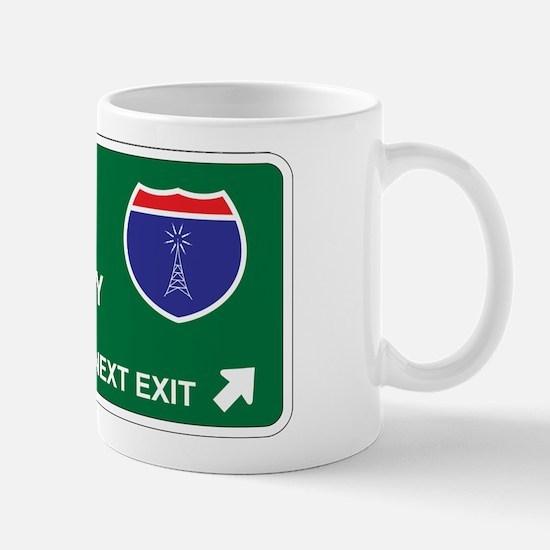 Amateur, Radio Territory Mug