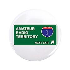 "Amateur, Radio Territory 3.5"" Button"