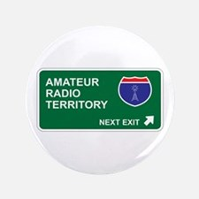 "Amateur, Radio Territory 3.5"" Button"