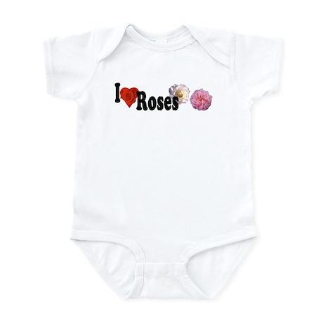 I Love Roses Infant Bodysuit