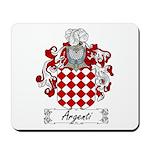 Argenti Family Crest Mousepad