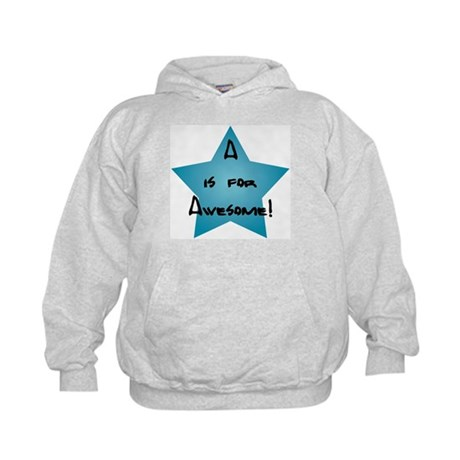 A is for Awesome Kids Hoodie