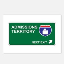 Admissions Territory Postcards (Package of 8)