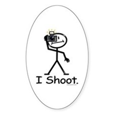 Photographer Oval Decal
