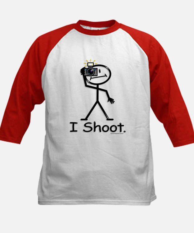 Photographer Kids Baseball Jersey