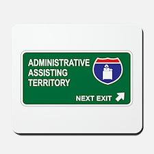 Administrative, Assisting Territory Mousepad