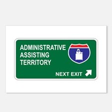 Administrative, Assisting Territory Postcards (Pac