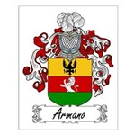 Armano Family Crest Small Poster