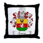 Armano Family Crest Throw Pillow