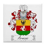 Armano Family Crest Tile Coaster