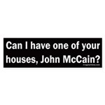 Can I have one of your houses, John McCain?