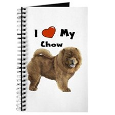 I Love My Chow Journal