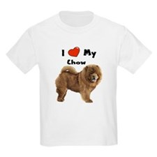 I Love My Chow T-Shirt
