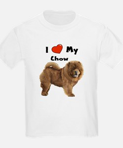 I Love My Chow T-Shirt