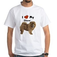 I Love My Chow Shirt