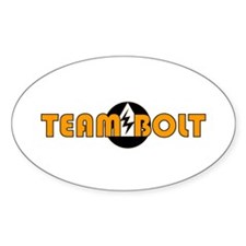 TEAM BOLT Oval Decal