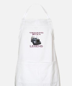 Trucking With A Legend BBQ Apron
