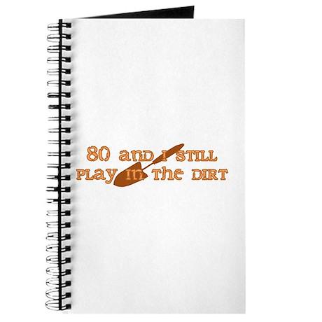 80th Birthday Gardening Journal