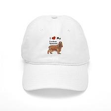 I Love My Cocker Spaniel Baseball Cap